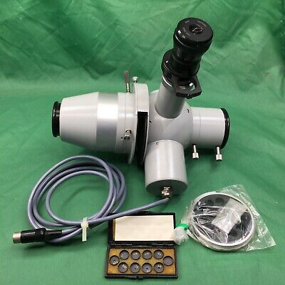 Zeiss Microspectrophotometer Head With Calibration Set