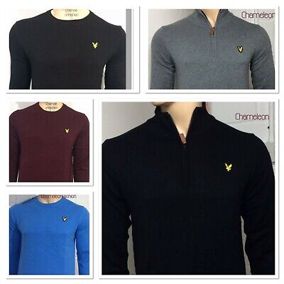 BRAND NEW LYLE AND SCOTT LONG SLEEVE  JUMPER (SWEATER ) FOR MEN