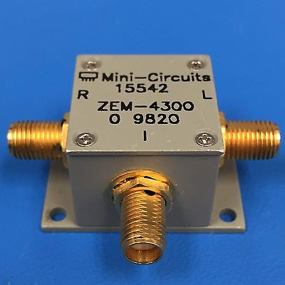 Mini-circuits Zem-4300 Coaxial Frequency Mixer 300 Mhz To 4300 Mhz