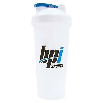 BPI Sports Protein Shaker Mixer Blender Cup Bottle 28 oz Wire Whisk Gym Workout