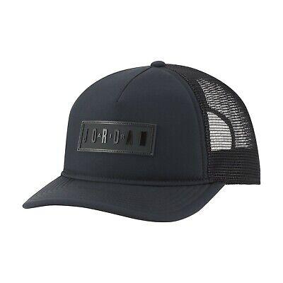 Nike Jordan CLC99 JM Air Trkr Cap DRI-FIT Hat Black Unisex NWT DC3685-011