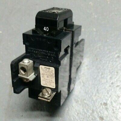 Pushmatic Gould Ite Siemens P240 40a 2p 120240v Circuit Breaker
