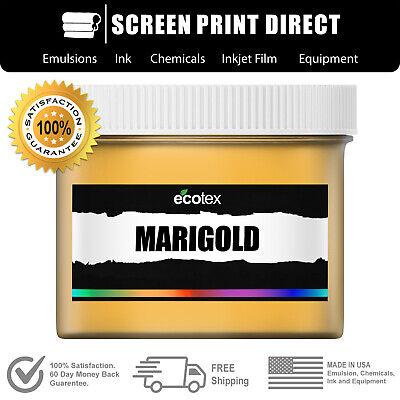 Ecotex Marigold - Premium Plastisol Ink For Screen Printing - 1 Qt. 32oz