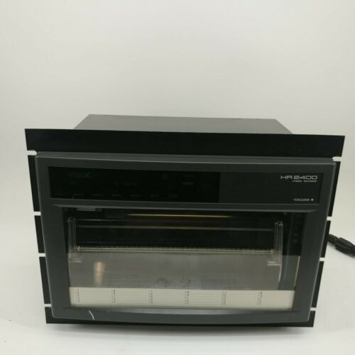 Yokogawa Chart Recorder Model HR2400 Hybrid Recorder #1
