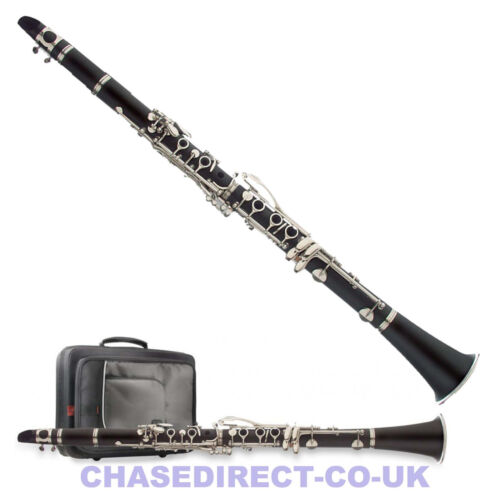 Clarinet in Bb Chase 77C/SC Shiny with Case Complete Student Outfit - B Stock