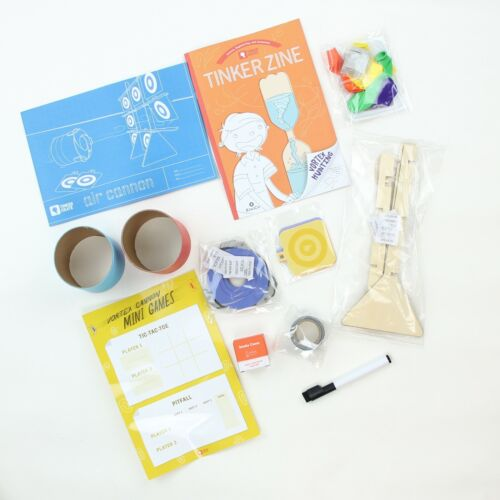 KIWI CO Tinker Crate AIR CANNON Kids Craft Art Learning Kit - Ages 9+