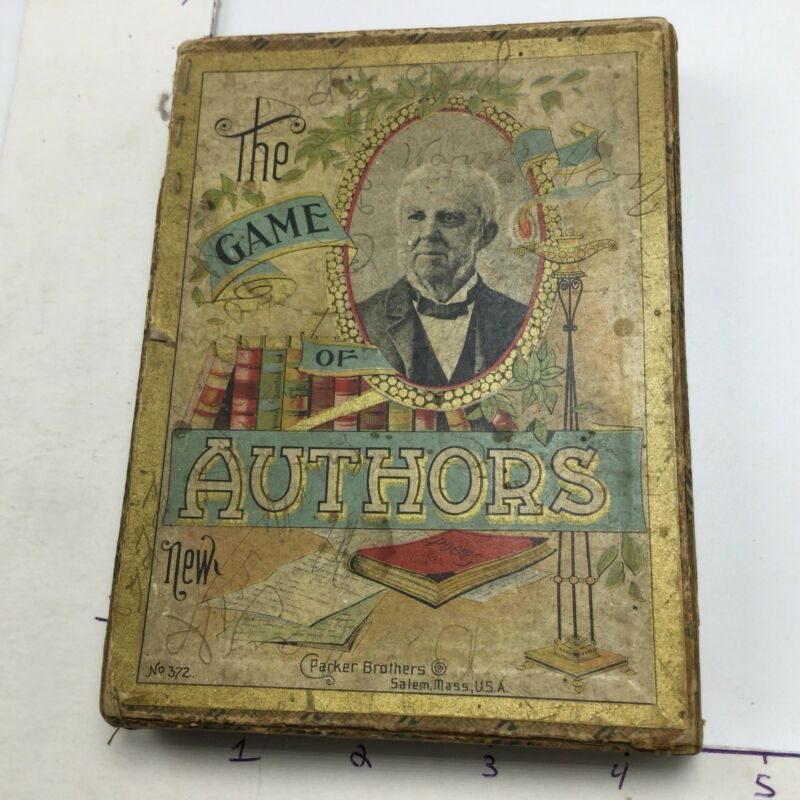 The Game Of Authors - Parker Brothers - Early