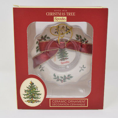 Christmas Tree Wreath (Spode Christmas Tree Wreath Ornament New in)