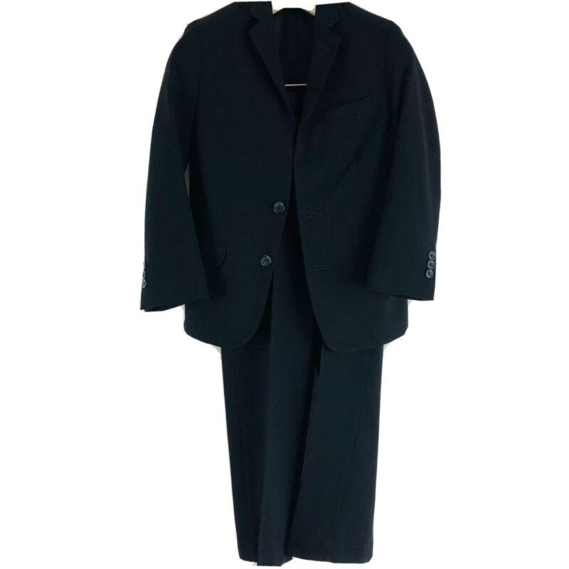 Calvin Klein Boys 2 Piece Suit Black Size 10 Regular