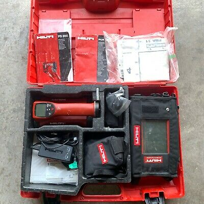Hilti Ps 200 S Ferroscan Concrete Scanner Measuring System Ps200m Tablet Package
