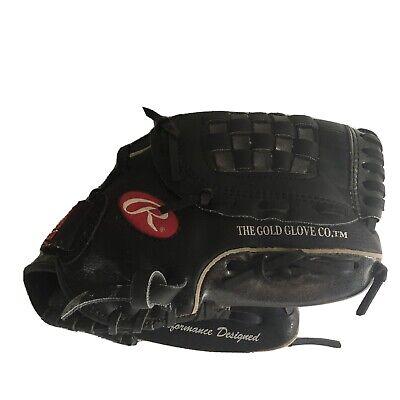 Rawlings A-Rod PL129FB Used Baseball Right Glove With New York Yankees Baseball