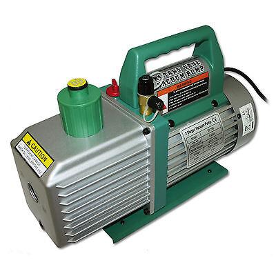 Unterdruckpumpe 2 stufig 224 L 8 cfm 0,3 Pa Vakuumpumpe Vakuum Unterdruck Pumpe
