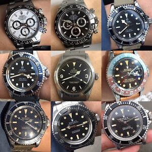 PASSIONATE ROLEX COLLECTOR PAYS TOP $$$ for ROLEX WATCHES ITEMS