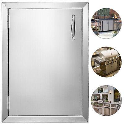 570X415mm BBQ Access Island Single Door New Style Vertical Walled Doors