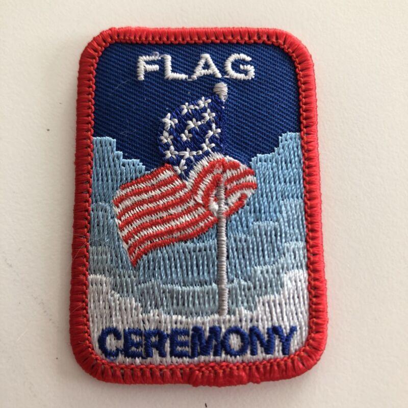 "BSA ""Generic"" Flag Ceremony Patch"