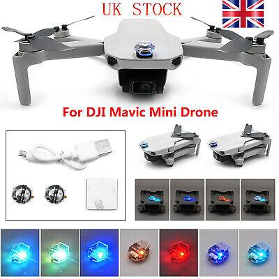 For DJI Mavic Mini Drone LED Flashlight Night Flight Light Lamp Rechargeable #UK