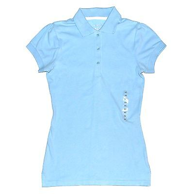 New  20 Arizona Junior Womens Fitted Polo Short Sleeve T Shirt Tee Top Blouson