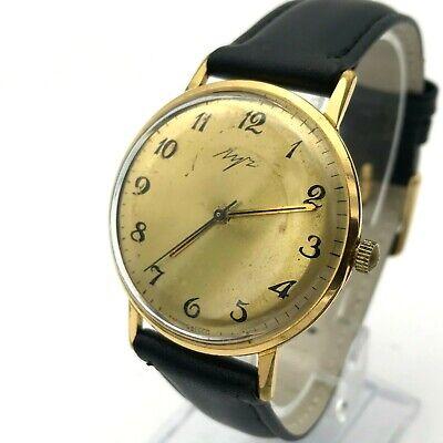 Vintage Luch Kostüm Herren Vergoldet Uhr Luxus 2209 - Au Gold Kostüm