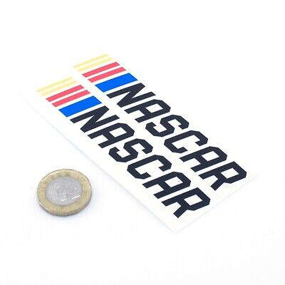 Nascar Stickers Decal Car Vinyl 100mm x2 Stock Car Racing Enthusiast