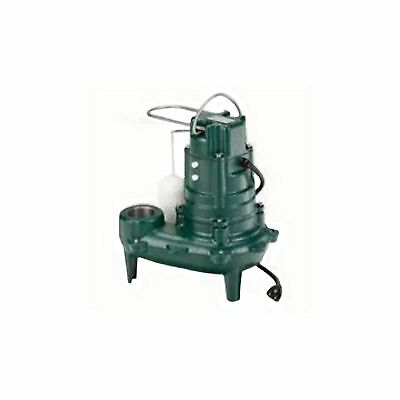 Zoeller M267 1/2 HP 115V Submersible Automatic Dewatering Waste Mate Sewage Pump Automatic Submersible Dewatering Pump