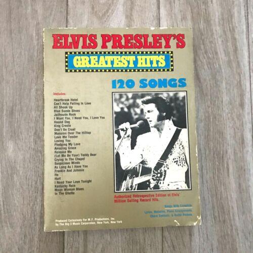 Elvis Presley Greatest Hits 120 Songs  / Sheet Music Book Vintage