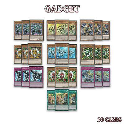 GADGET DECK 30 | BOOT-UP DYNAMO GOLD SILVER POWERHOLD | FIGA YuGiOh