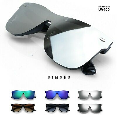 Mirrored Rimless Color Lens Hipster Horn Reflective women Retro Sunglasses (Reflective Sunglasses)