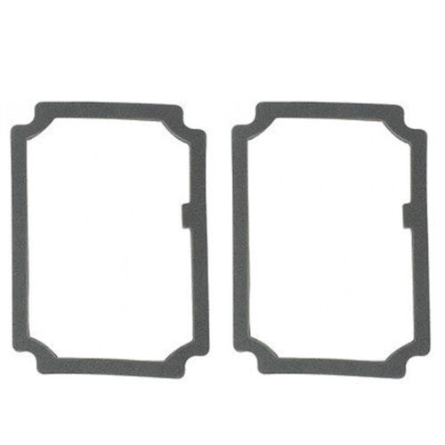 68 69 Chevy El Camino Tail Brake Turn Signal Light Lenses Foam Gaskets Pads Pair