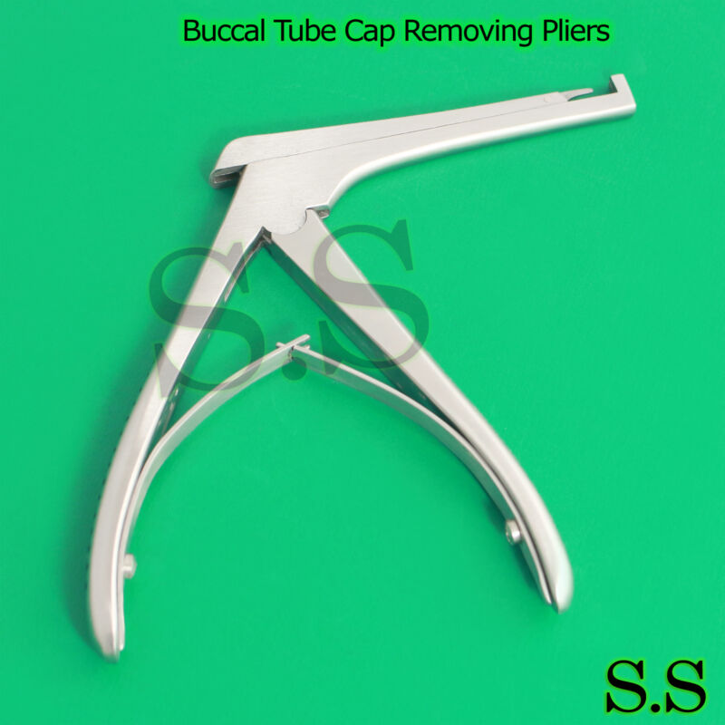 Convertible Buccal Tube Cap Removing Pliers Dental Surgical Medical Instruments