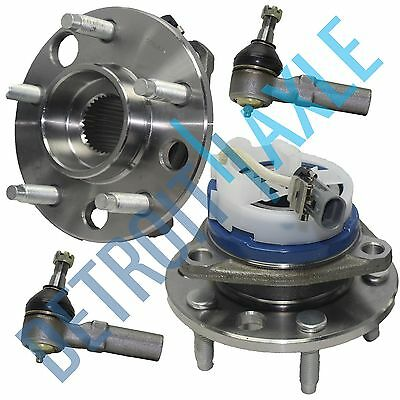 (93-96 Buick Chevy Olds Front Wheel Hub Bearing Assembly w/ABS + Outer Tierod End)
