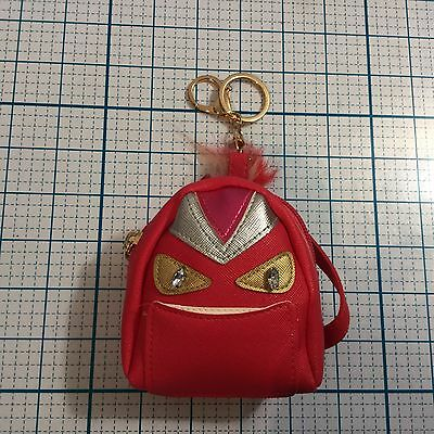 New SARINA Pink Mini Monster Backpack Charm Keychain - Coin Purse](Pink Monster)