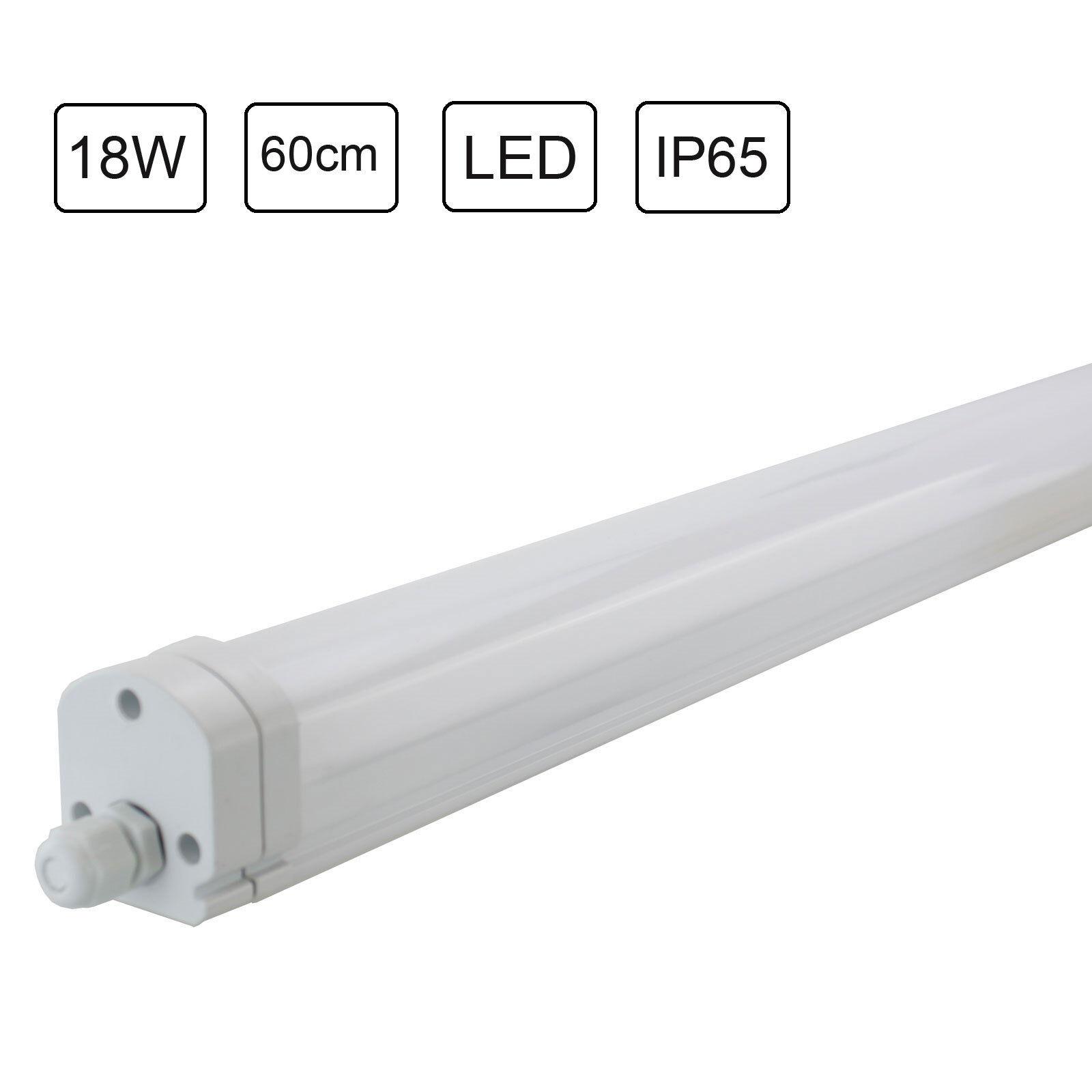 IP44 weiß Wandleuchte Deckenleuchte Kellerlampe Lampe Licht Rundleuchte EEK A+