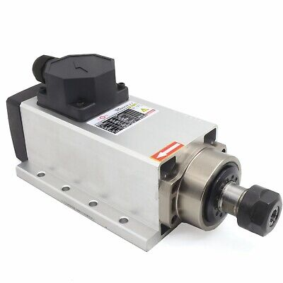 In Canada2.2kw 24000rpm Air-cooled Spindle Motor Er20 Square For Cnc Router