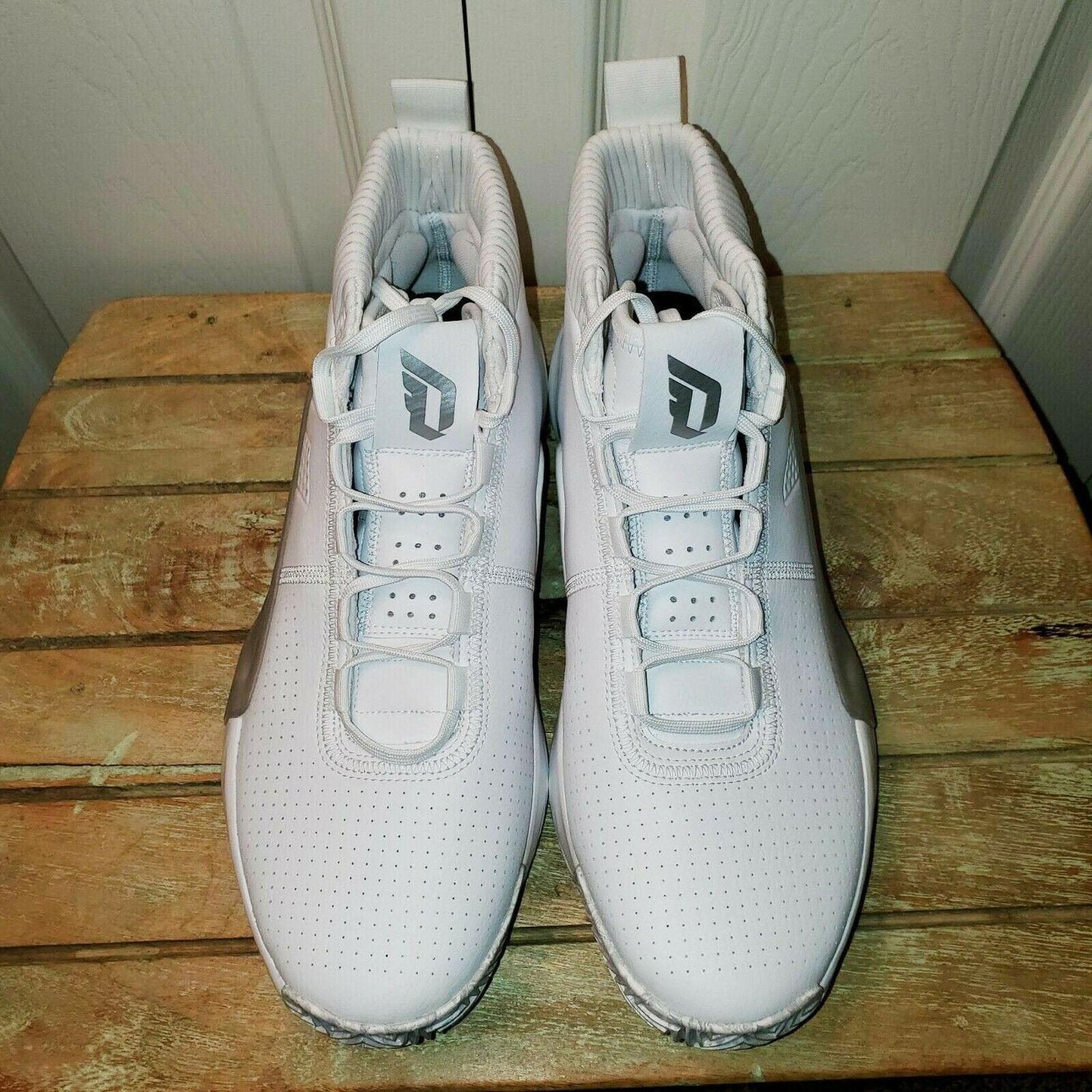 Adidas Dame 5 Footwear White EE5424 Men's Size 12.5