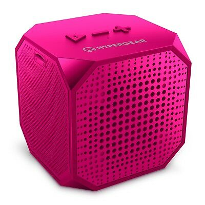 Portable HyperGear Sound Cube BT Wireless Speaker w/Hands-free Speakerphone