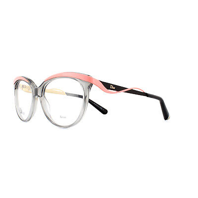 Dior Glasses Frames CD3279 8LE Grey Crystal Black 51mm Womens