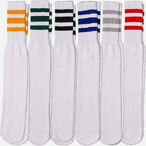 Tube socks have made a big comback in the last 5 years. Specially the old school retro striped tube socks of the 's. Specially the old school retro striped tube socks of the 's. We have roller derby teams to cheerleading teams and football teams amongs our many customers, we even had the harlem globe trotters as customers for tube socks.