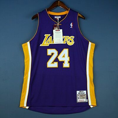 b63c1af694b 100% Authentic Kobe Bryant Mitchell   Ness 06 07 Lakers Jersey Size 48 XL  Mens