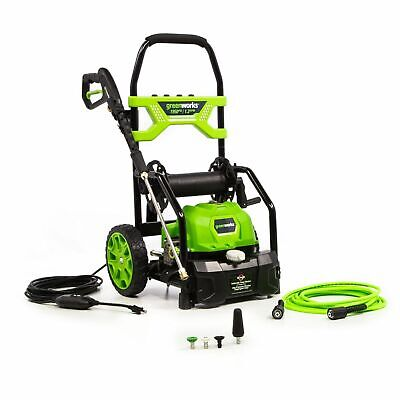 Greenworks 1950 Psi Electric Pressure Washer W 20 Hose Reel Open Box