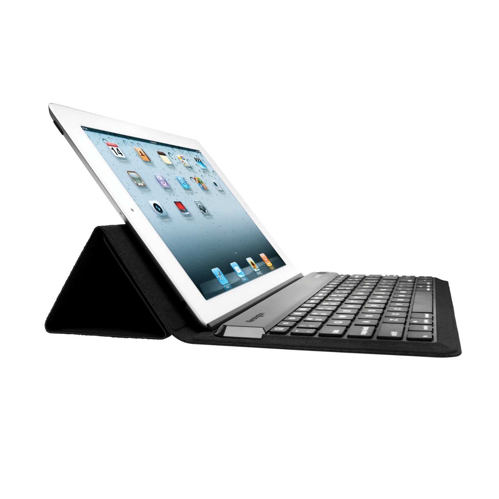 apple ipad air 2 wireless bluetooth french azerty keyboard clavier stand cover ebay. Black Bedroom Furniture Sets. Home Design Ideas