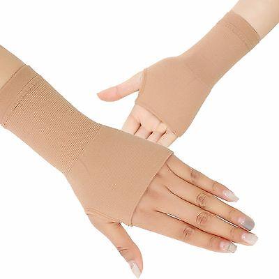 1 Pair Wrist Hand Brace Elastic Palm Support Compression Glove Sleeve (Elastic Wrist Hand Brace)