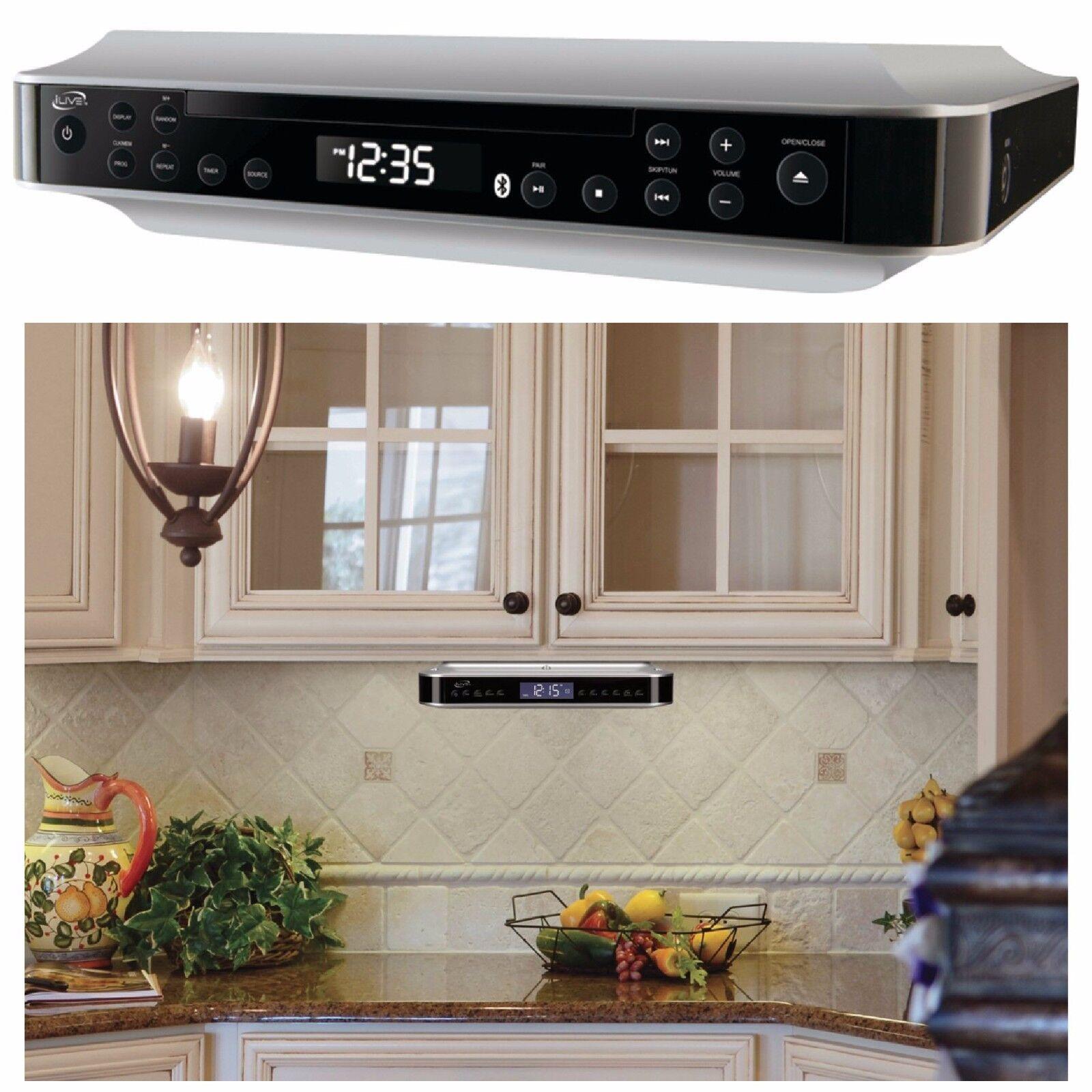 Radio For Kitchen Cabinet: Under Cabinet Cd Player And Radio Kitchen Counter