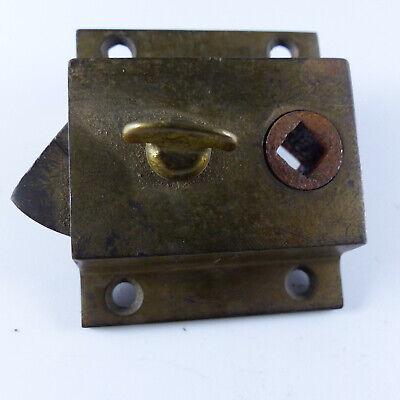 Vintage old Antique Door Rim Lock 4 Restoration project Cast Iron keys brass