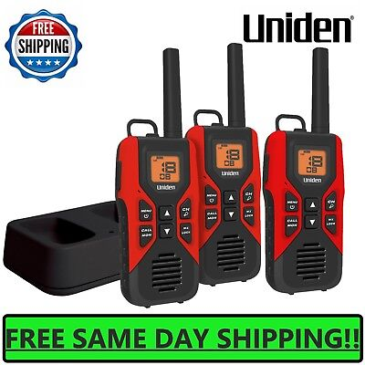 Uniden GMR3740-3CK 3 Pack 37 Mile Two-Way Radio With Charging Cradle