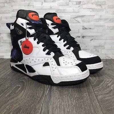Reebok Battleground Blacktop Pump OG Retro Sample Mens Size 8 Basketball Shoe