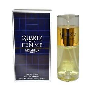 Eau De Edp Quartz Femme Parfum 100ml Pour Spray Molyneux 80knOXwP