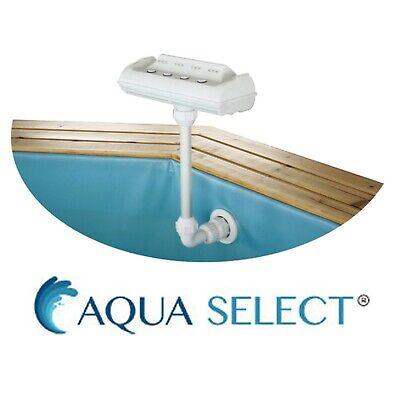 Aqua Select Rainbow Aboveground Swimming Pool Cascade Fountain w/ LED Light