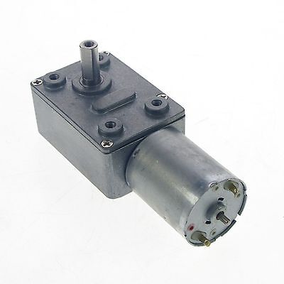 2pcs 12v 3rpm Square Geared Gearhead Dc Motor High Torque Output Heavy Duty