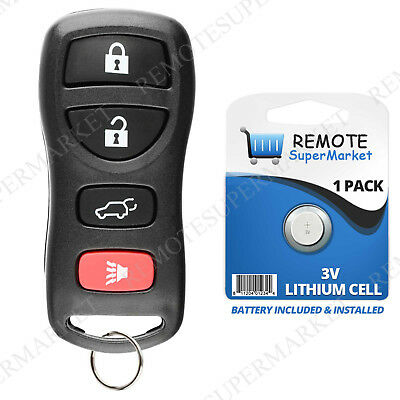 Replacement for Nissan 2004-2009 Quest 2007-2012 Sentra Remote SUV Keyless Fob