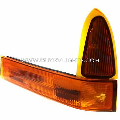 FLEETWOOD DISCOVERY 2003 2004 03 04 LEFT DRIVER FRONT TURN SIGNAL LIGHT LAMP RV